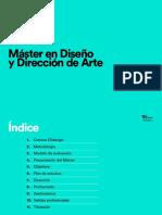 Máster en Diseño y Dirección de Arte