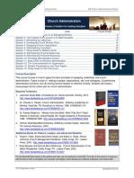228 Church Administration Portfolio