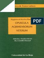 OPUSCULA AGRIMESORUM