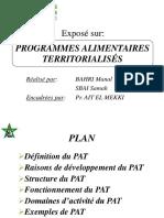 Programme alimentaire territorialisé
