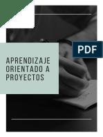1 Aprendizaje Orientado a Proyectos (Fundamentos)