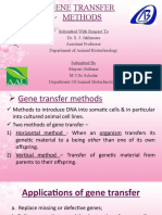 Gene Transfer Methods