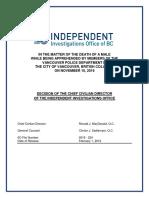 IIO report on 2016 shooting