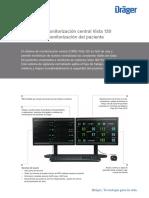 Manual de Usuario Monitor de Signos Vitales Drager Vista 120