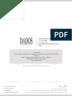 Clara Araújo - As Cotas Por Sexo Para a Competição Legislativa - Rev Dados 2001