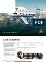 Cessna Denali Product Card