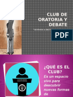 Club de Oratoria y Debate