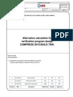 Cálculos alternos ASME