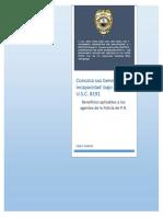 Beneficios de Incapacidad Para Agentes de La Policía de PR Ley 5 U.S.C. 8191