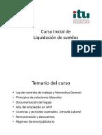 Liquidación de Sueldos y Jornales