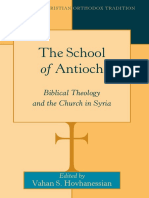 (Bible in the Christian Orthodox Tradition) Vahan S. Hovhanessian (Ed.) - The School of Antioch_ Biblical Theology and the Church in Syria-Peter Lang (2016)