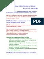 LAS 5 TRAMPAS DE LA MINERIA.doc
