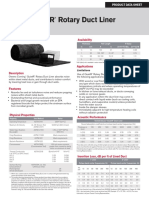 10004451 QuietR Rotary Duct Liner Product Data Sheet