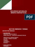 Recursos Minero Energeticos