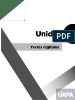Textos digitales