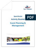 Event Planning Management-Activity Booklet