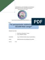 EL PENSAMIENTO SISTEMICO BLANDO DESDE EL PUNTO DE VISTA DE PETER SENGE.docx