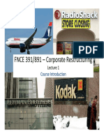 lecture slides in corporate restructuring