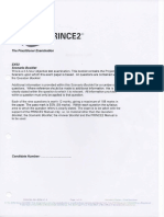 172702864 Prince2 Practitioner Papers