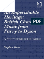 TOWN British Choral Music From Parry to Dyson