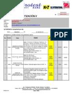 1 - Tarifa de Ensayos de Laboratorio 2015 (Uit 3850 -18)