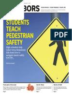 Students Teach Pedestrian Safety