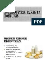 Agroindustria Rural en Honduras