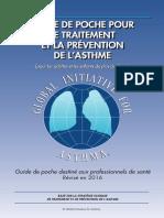 Guide de Poche Pour Le Traitement Et La Prévention de l'Asthme