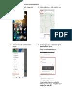 Cara Membuat Lokasi Penitikan Pada Aplikasi Gmaps