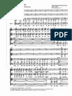 Mendelssohn - Richte Mich Gott