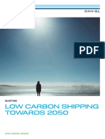 DNV GL Low Carbon Shipping Towards 2050