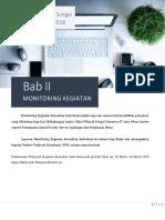 1. Bab II Monitoring Kegiatan