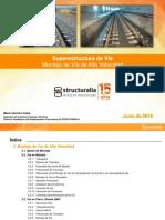 Montaje de via DDdO_Structuralia