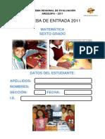 PRUEBA_ENTRADA_MAT_6°_SIREVA_2011