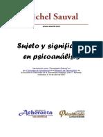 Sujeto y significante en psicoanalisis.pdf