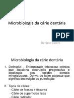 AULA 2 - Microbiologia Da Cárie Dentária