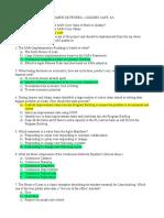 Pre-exam Safe Sa 50 preguntas con respuesta