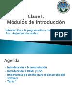 Módulo de Inicio IPC 1