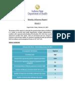 Weekly Influenza Report Week 4 2018 2019