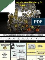 Técnicas de Estudio en Minerales y Rocas