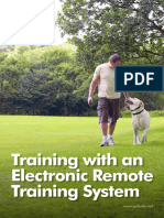 Training With an Electronic Remote Training System En