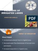 Problems of Irrigated Lands