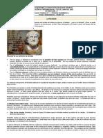 Guía de trabajo N° 1 de ÉTICA - grado 10