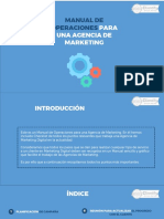 Manual de Operaciones Para Una Agencia de Marketing