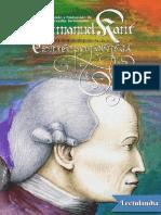 Correspondencia - Immanuel Kant