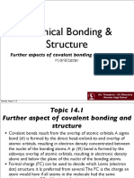 t14.1 Further Aspects of Covalent Bonding and Structure