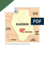 Map of Maramag