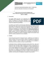 Bases Proyectos Innovación Pedagógica UGEL05