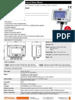 KIMO-Transmitter2014 CA310sensor temperatura y humedad