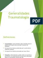 1. Generalidades de Traumatologia